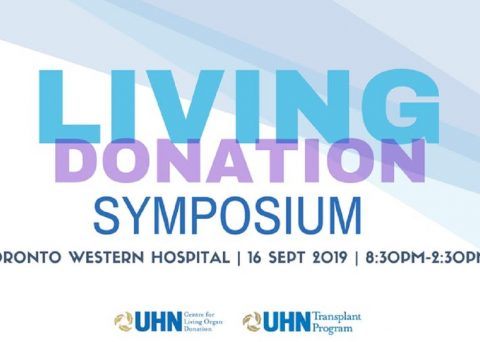Living Donation Symposium Poster