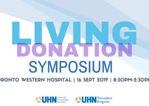 Living Donation Symposium Poster
